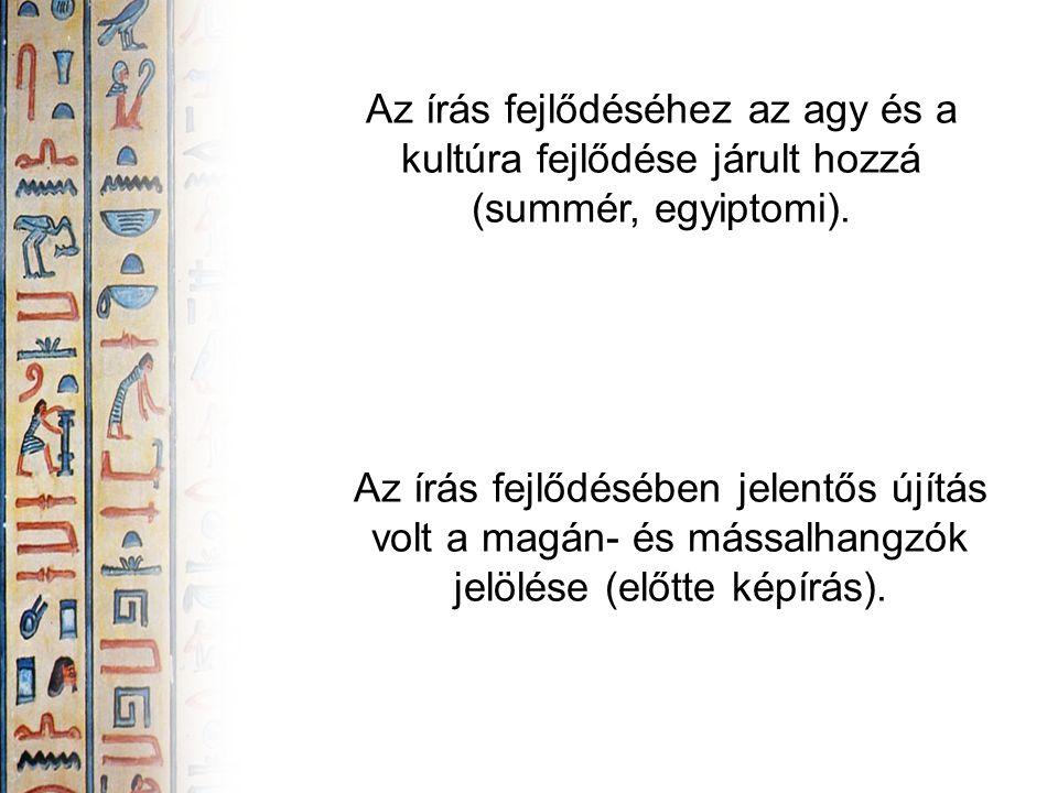 A rómaiak a görög írást átvéve és átdolgozva fejlesztették ki a latin írást.