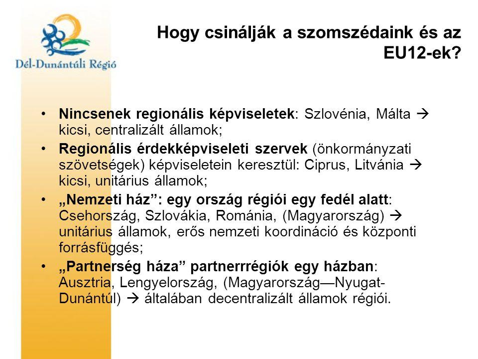 Hogy csinálják a szomszédaink és az EU12-ek.