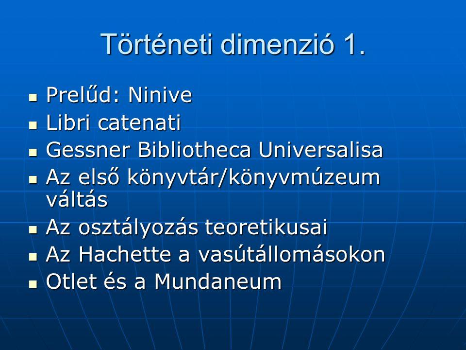 Történeti dimenzió 2.