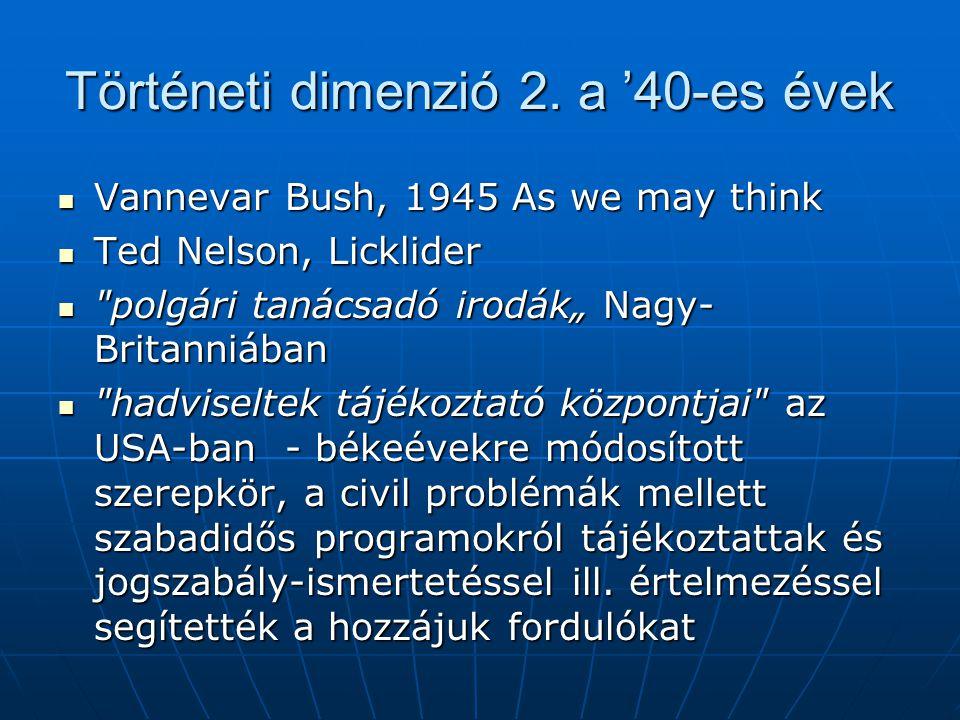 Történeti dimenzió 3.