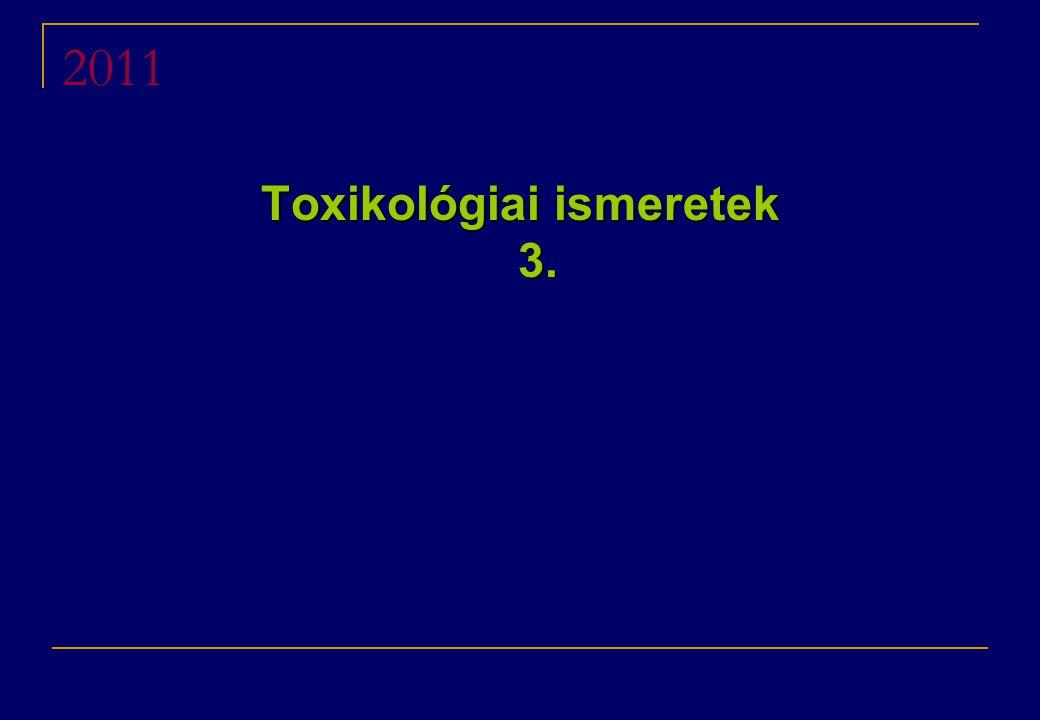 2011 Toxikológiai ismeretek 3.