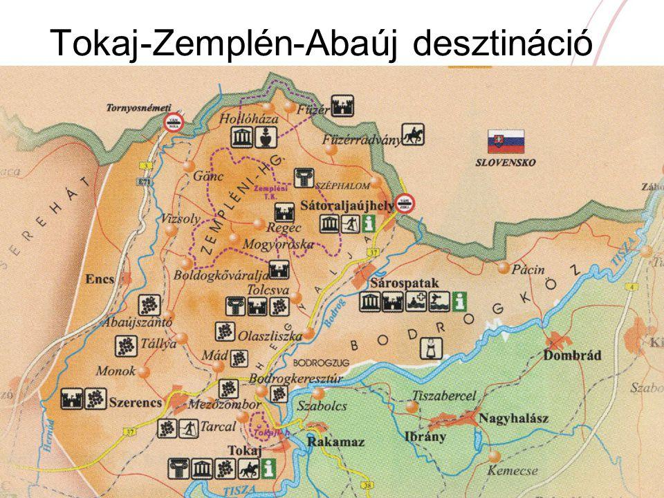 Tokaj-Zemplén-Abaúj desztináció