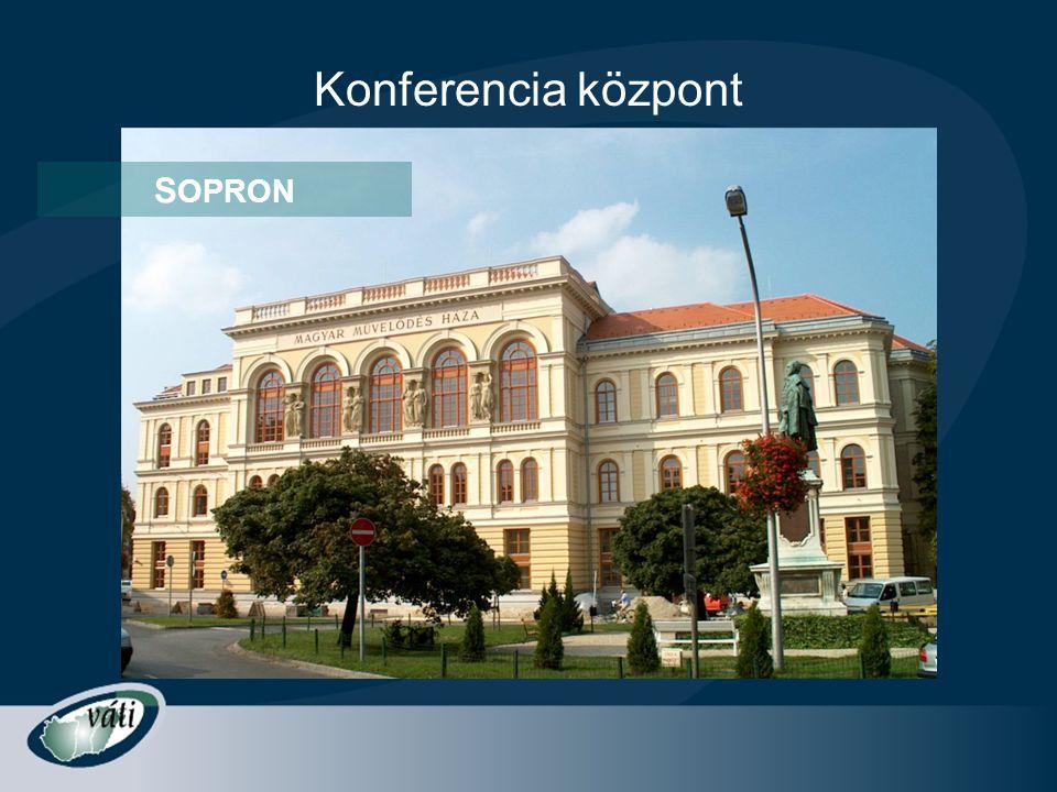 Konferencia központ S OPRON
