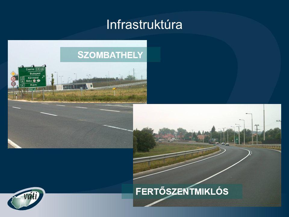 Infrastruktúra S ZOMBATHELY F ERTŐSZENTMIKLÓS