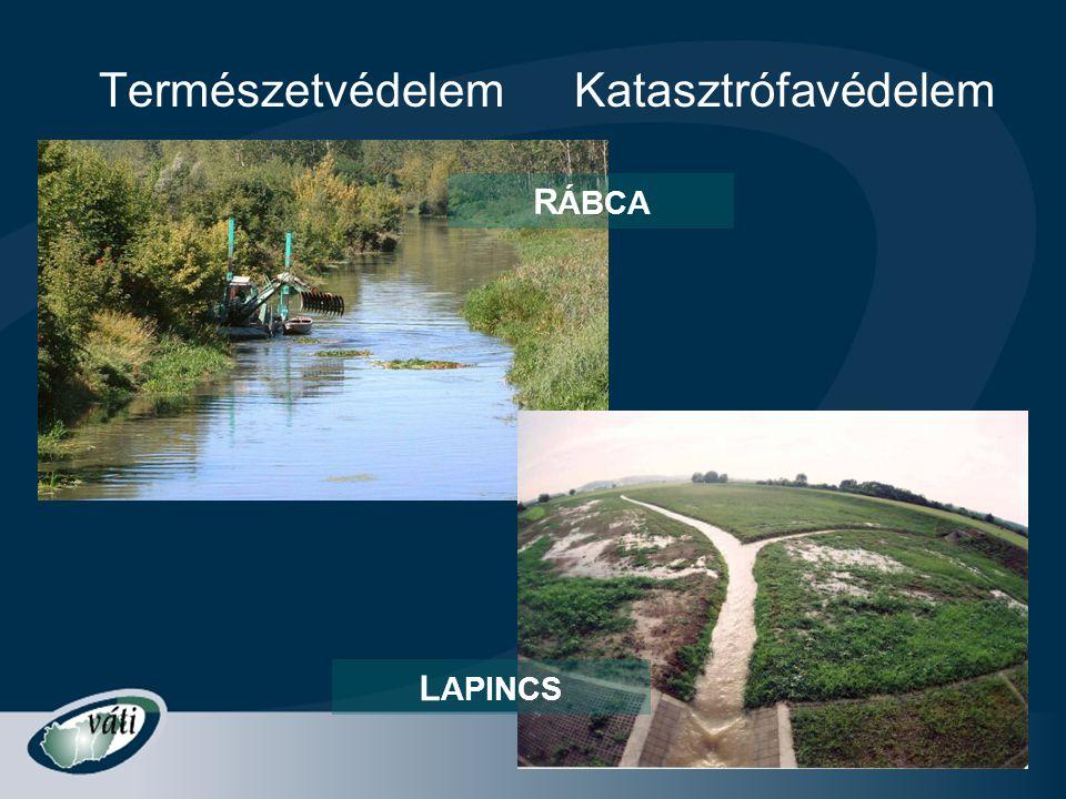Természetvédelem R ÁBCA L APINCS Katasztrófavédelem