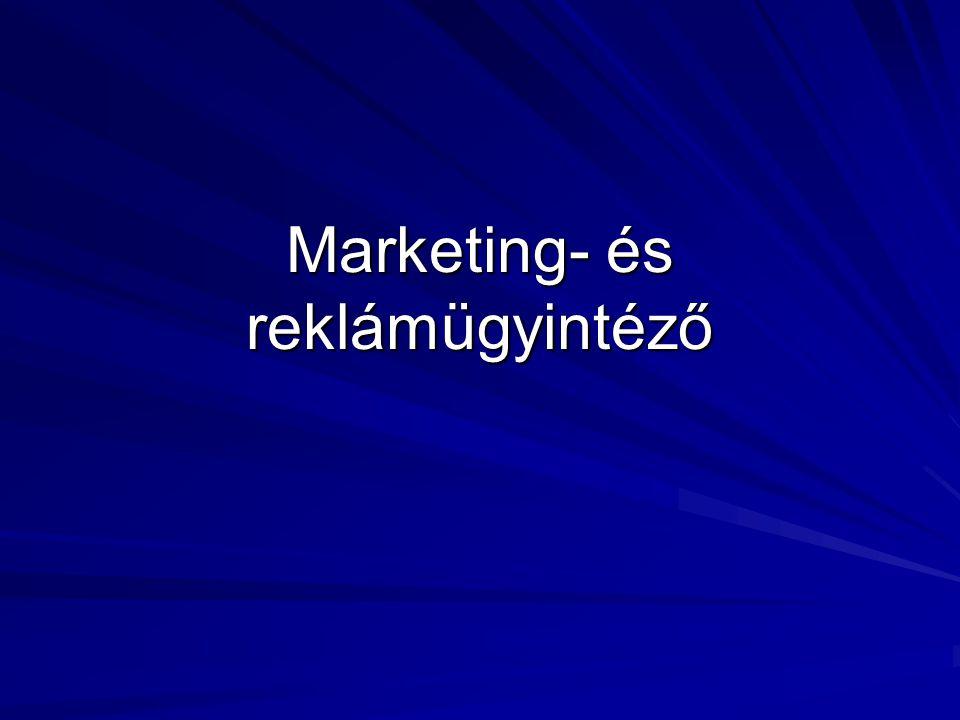 Marketing- és reklámügyintéző