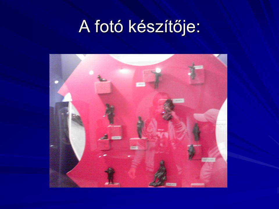 A fotó készítője: