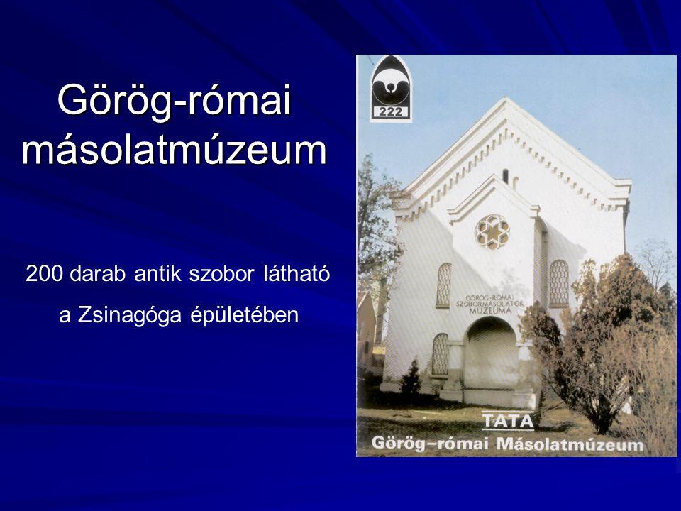 Görög-római másolatmúzeum 200 darab antik szobor látható a Zsinagóga épületében