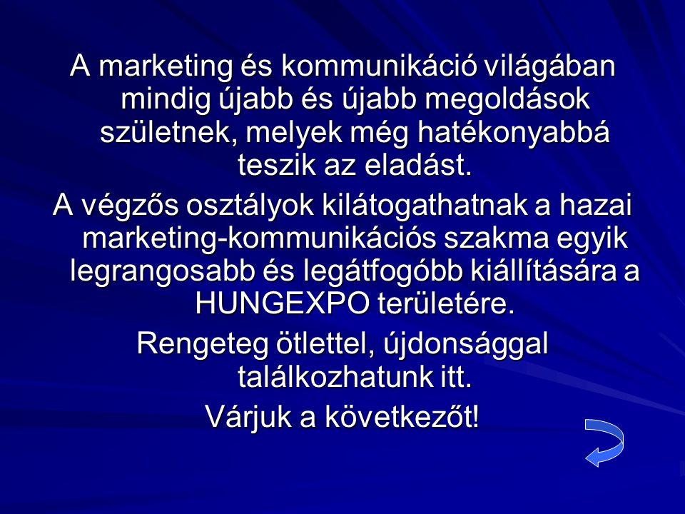 A marketing és kommunikáció világában mindig újabb és újabb megoldások születnek, melyek még hatékonyabbá teszik az eladást.