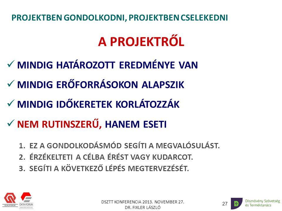27 DSZTT KONFERENCIA 2013.NOVEMBER 27. DR.