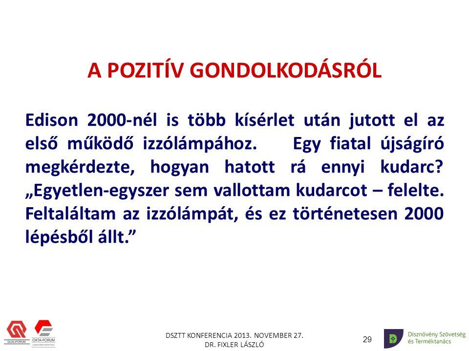 29 DSZTT KONFERENCIA 2013.NOVEMBER 27. DR.