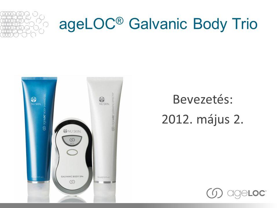 ageLOC ® Galvanic Body Trio Bevezetés: 2012. május 2.
