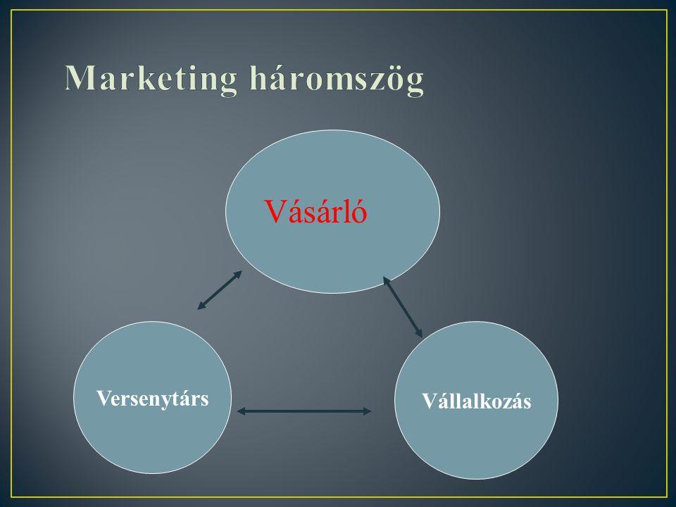 8 Verseny pozíciók Domináns pozíció -Az adott piacon csak egy vállalkozás lehet Erős versenypozíció -A vállalkozás saját stratégiáját követi,kevésbé v