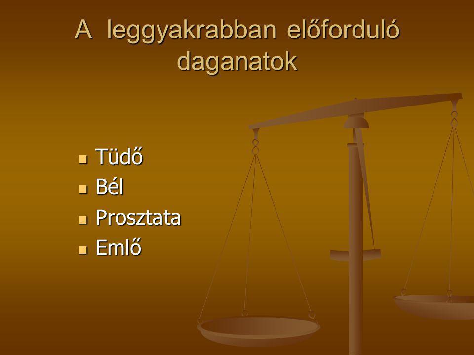 """Stádiumbeosztás  Stádium A – ( nincs klinikai jele, """"véletlen lelet)  Stádium B- (1,5 cm-nél nagyobb, nem terjed túl a tokon)  Stádium C- (ondóhólyag, húgycső, húgyhólyag infiltráció)  Stádium D- (távoli áttét)"""