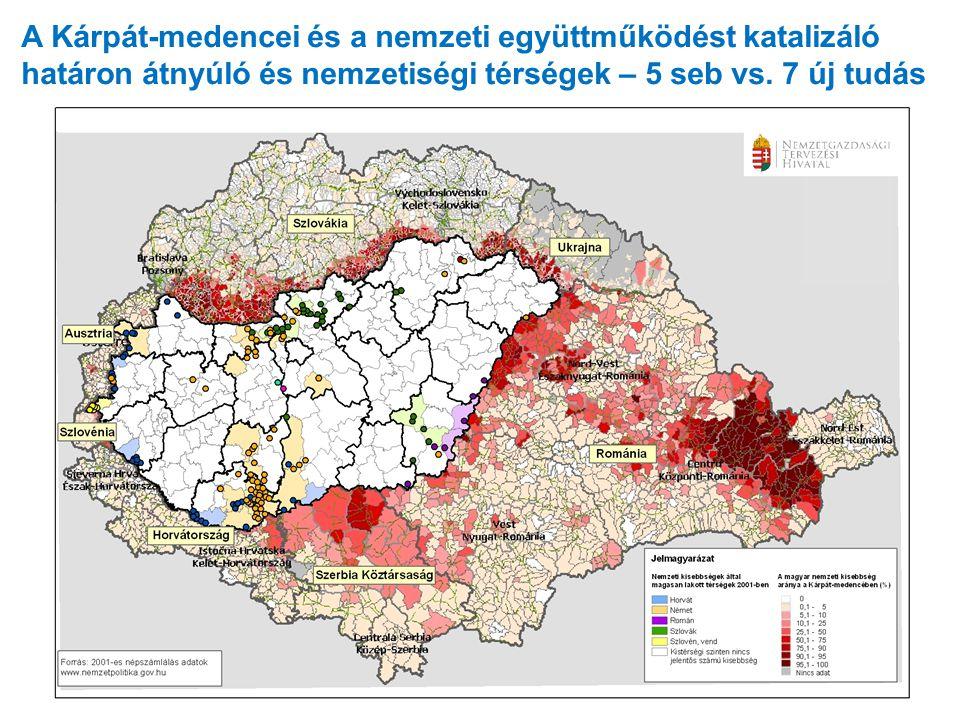 A Kárpát-medencei és a nemzeti együttműködést katalizáló határon átnyúló és nemzetiségi térségek – 5 seb vs. 7 új tudás