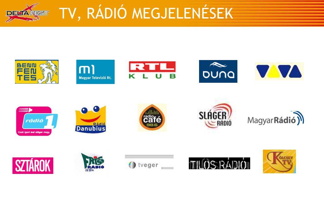 TV, RÁDIÓ MEGJELENÉSEK