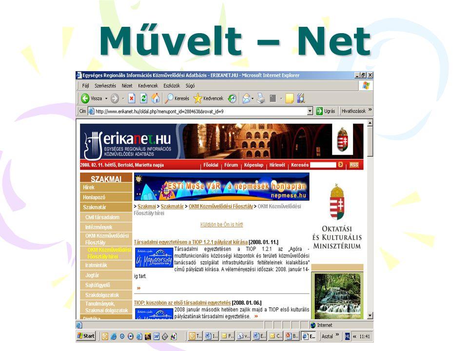 Művelt – Net