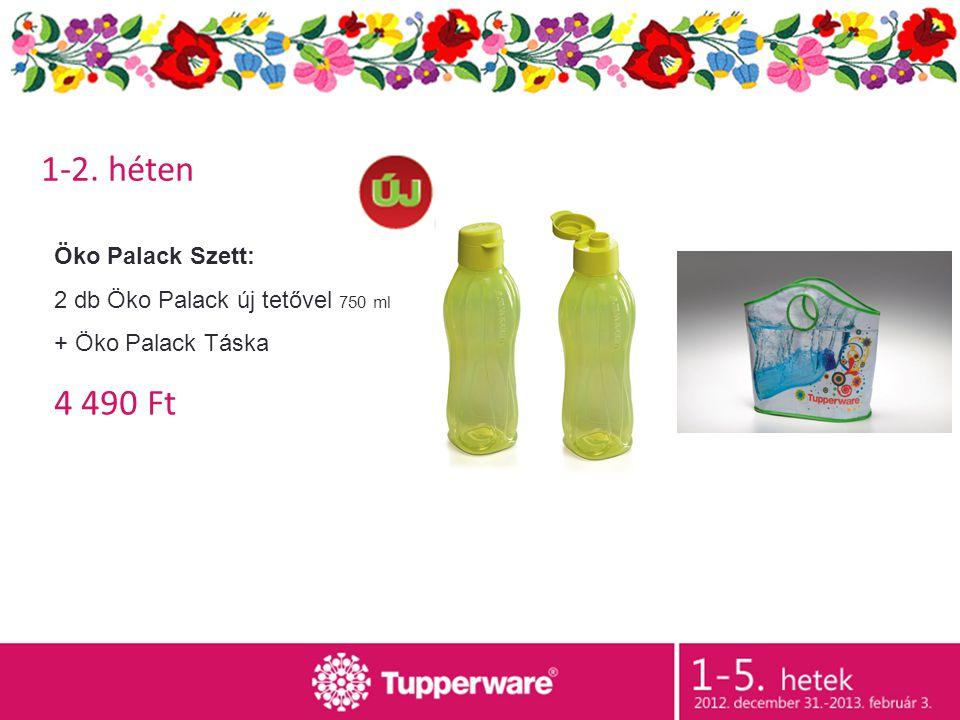 Öko Palack Szett: 2 db Öko Palack új tetővel 750 ml + Öko Palack Táska 4 490 Ft 1-2. héten