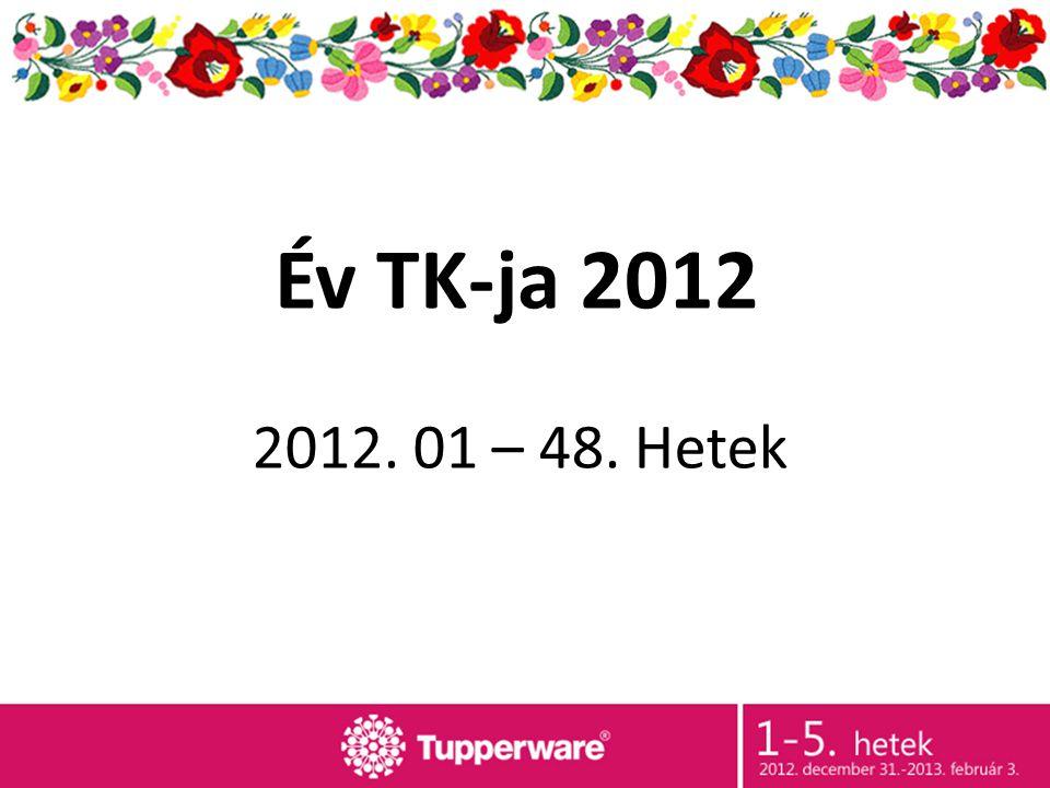 2012. 01 – 48. Hetek Év TK-ja 2012