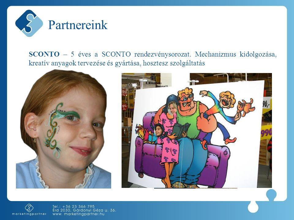 Partnereink SCONTO – 5 éves a SCONTO rendezvénysorozat.