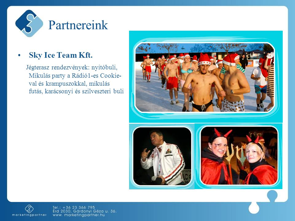 Partnereink •Sky Ice Team Kft.