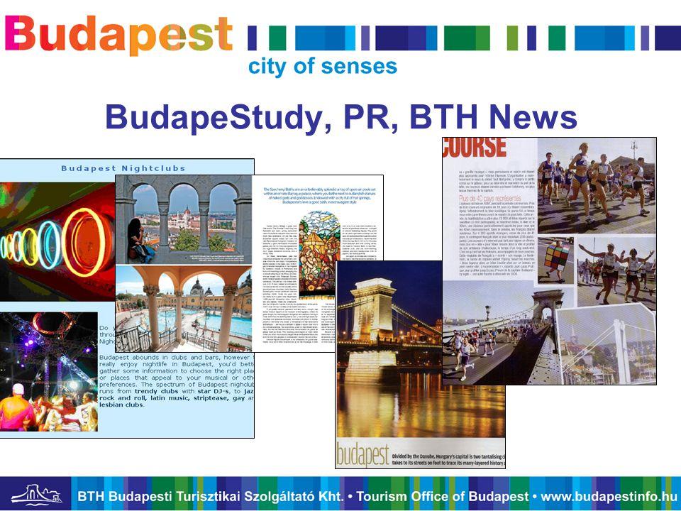 BudapeStudy, PR, BTH News