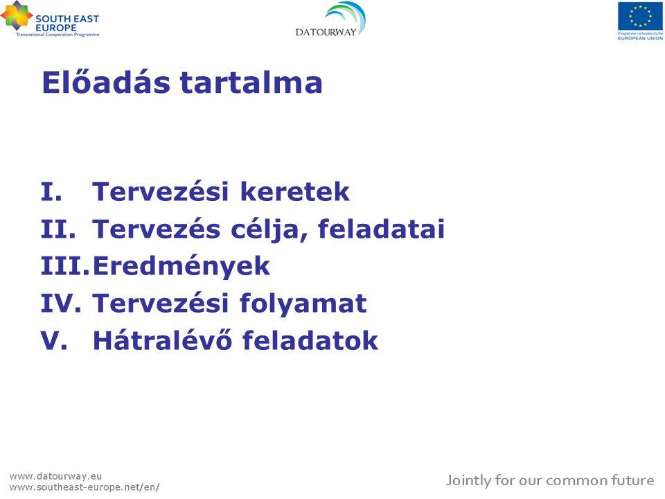 Érintettekkel való folyamatos kapcsolattartás •önkormányzatok és állami szervezetek •civil szervezetek és aktivisták •gazdasági szervezetek, egyéni vállalkozók •a terület lakossága •potenciális turisták