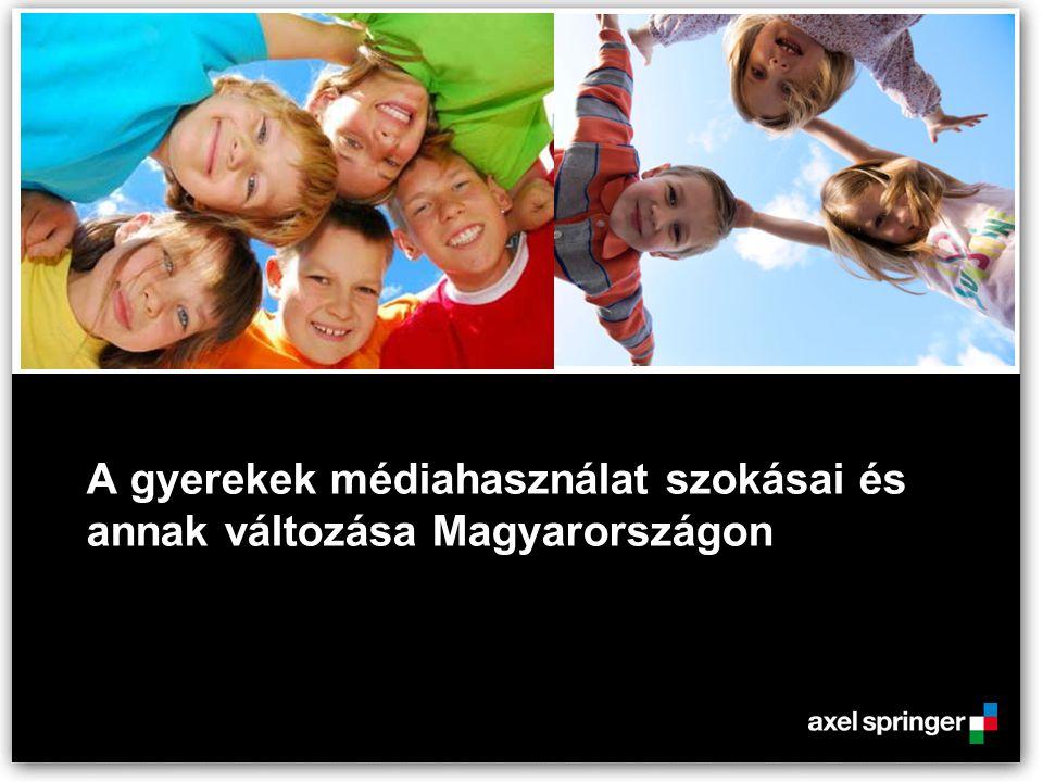 A gyerekek médiahasználat szokásai és annak változása Magyarországon