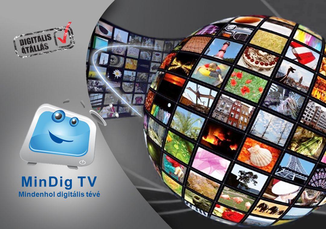 MinDig TV Mindenhol digitális tévé