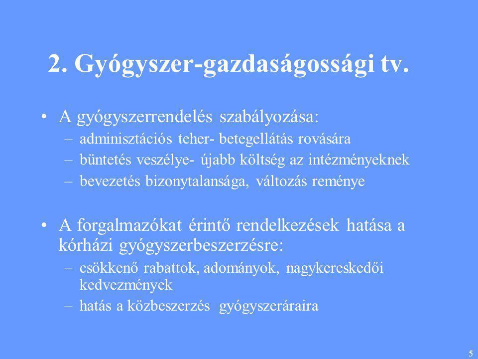 5 2. Gyógyszer-gazdaságossági tv.