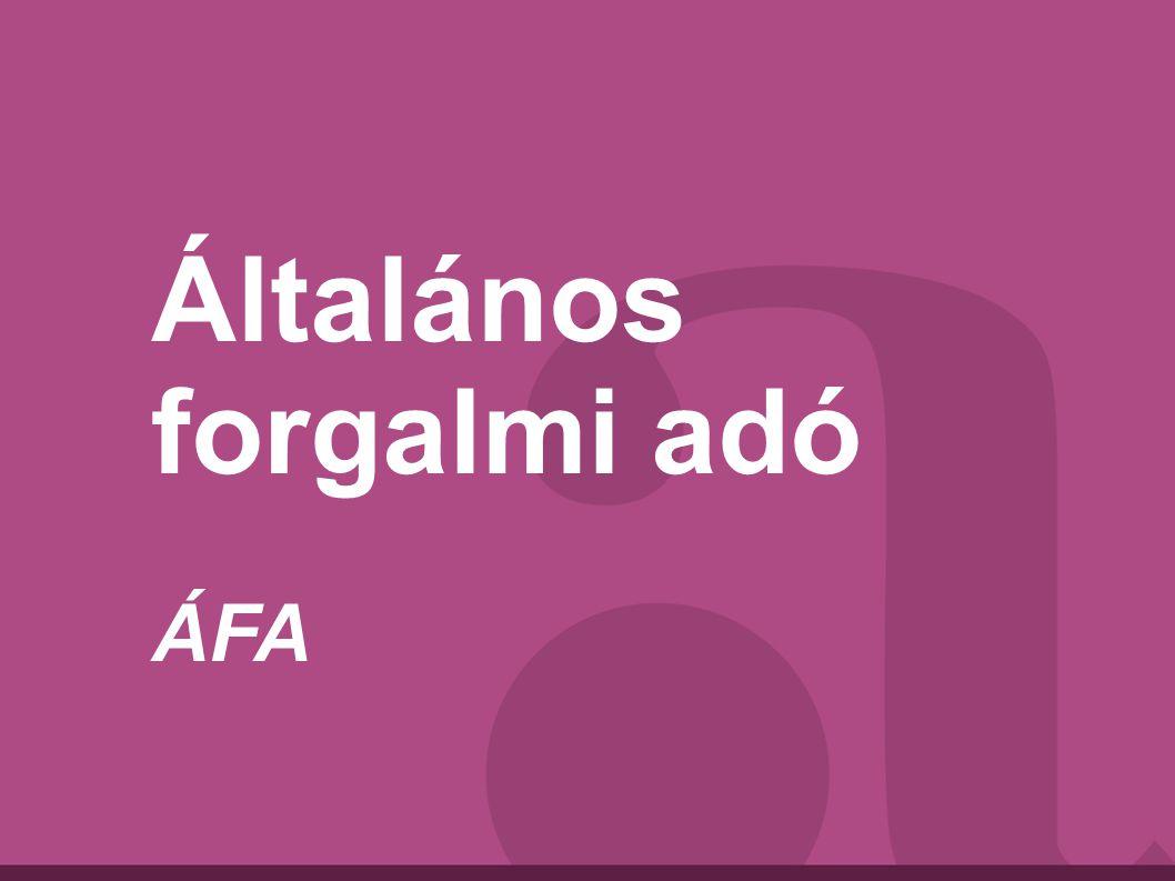 Általános forgalmi adó ÁFA
