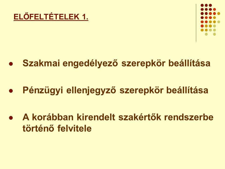 PÉNZÜGYI ELLENJEGYZÉS 2.