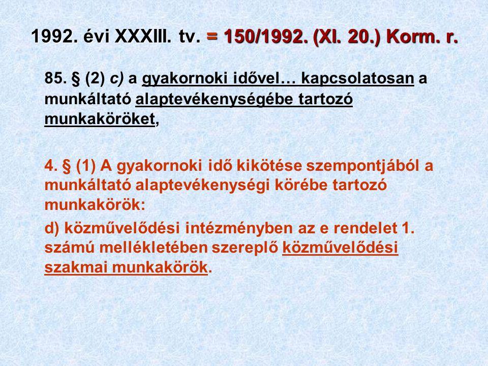 85.§ (3) f) fb) a pályázat hivatalos lapban vagy egyéb módon való közzétételét,… 7.