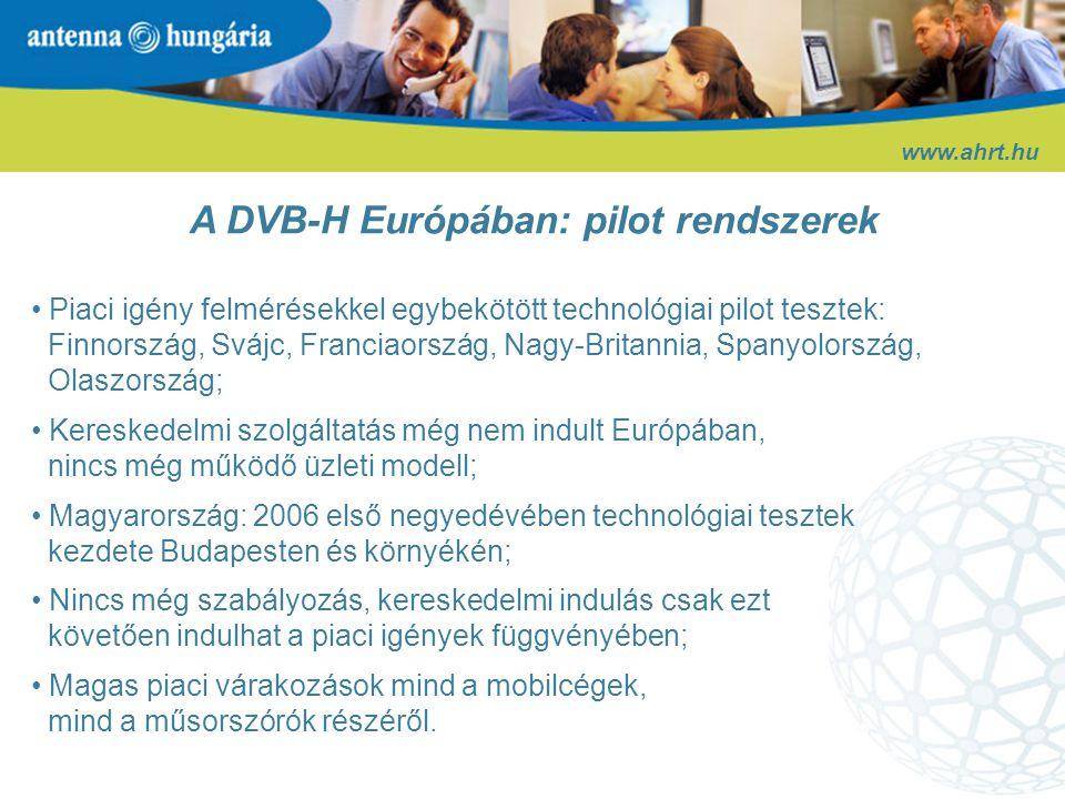 www.ahrt.hu Antenna Digital (digitális műsorelosztás)
