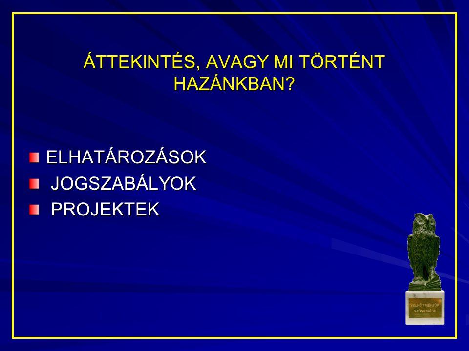 NÉHÁNY HATÁLYOS JOGSZABÁLY 2003.évi LXXVI. tv (Szakképzési tv.) 2001.