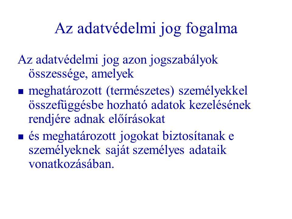 Történet: magyar szabályozás   15/1991 (IV.