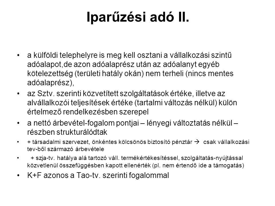 """2011.évközi változás illetékek •""""Z jelű rendszám kiadása illetékmentes •Itv."""