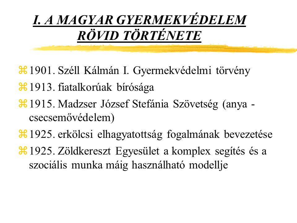 A GYERMEKEK SÉRELMÉRE IS ELKÖVETHETŐ EGYES BŰNCSELEKMÉNYEK zRágalmazás: Btk.179.