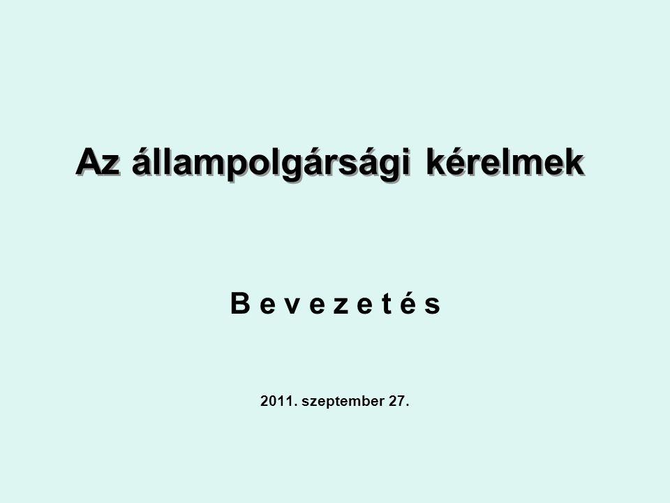 Legfontosabb rendező elv a magyar jogban a:leszármazás = egyik ember a másiktól származik és a leszármazási kapcsolat a magyar jog szerint elismerhető.