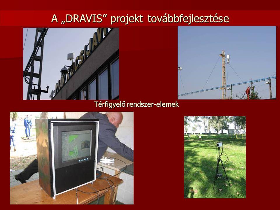 """A """"DRAVIS"""" projekt továbbfejlesztése Térfigyelő rendszer-elemek"""