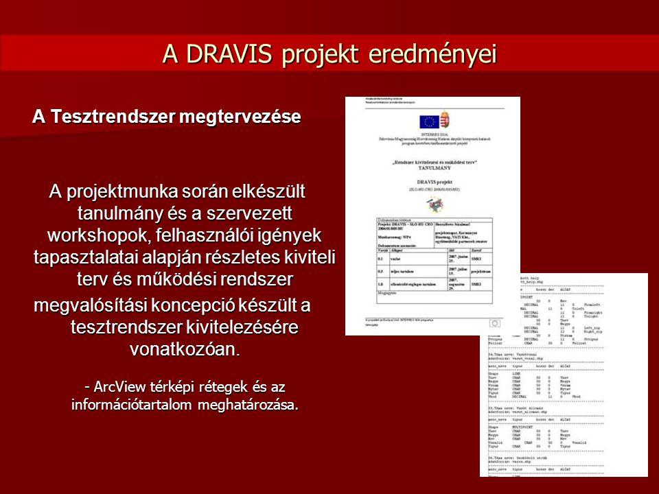 A Tesztrendszer megtervezése A Tesztrendszer megtervezése A projektmunka során elkészült tanulmány és a szervezett workshopok, felhasználói igények ta