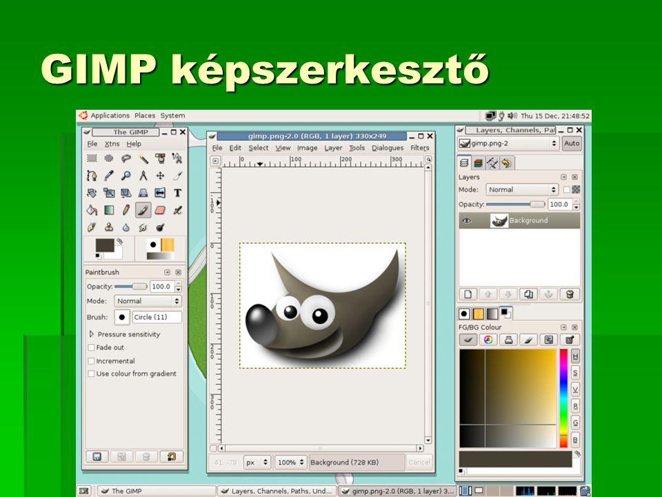 GIMP képszerkesztő