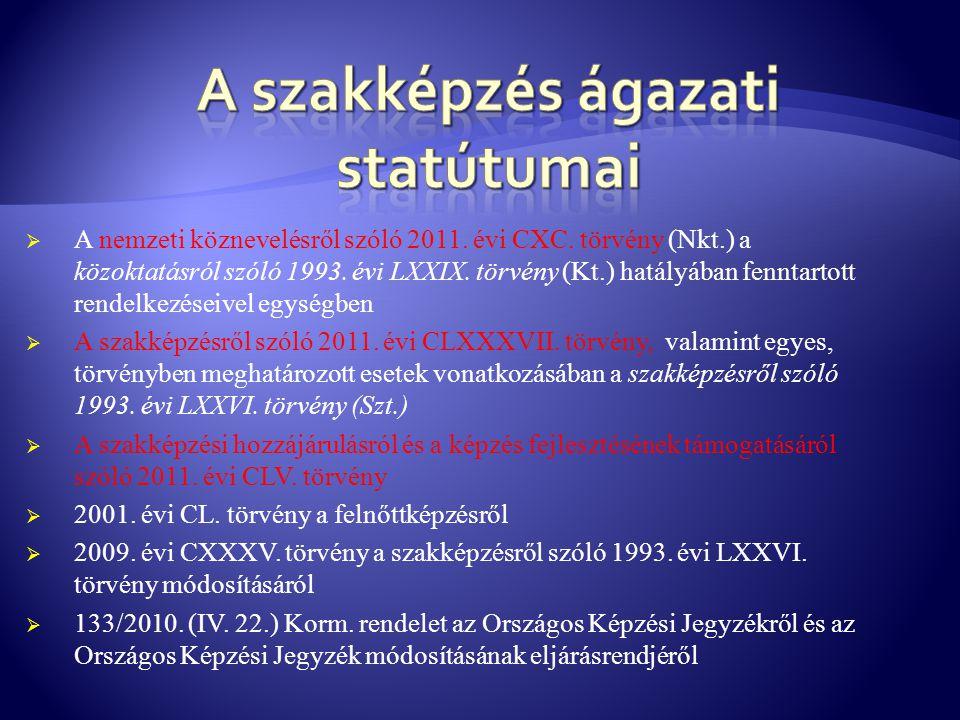  A nemzeti köznevelésről szóló 2011. évi CXC. törvény (Nkt.) a közoktatásról szóló 1993. évi LXXIX. törvény (Kt.) hatályában fenntartott rendelkezése