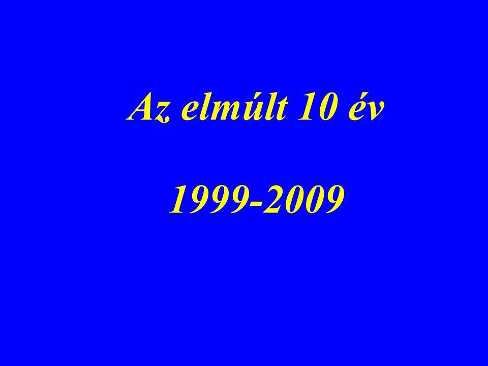 Az elmúlt 10 év 1999-2009