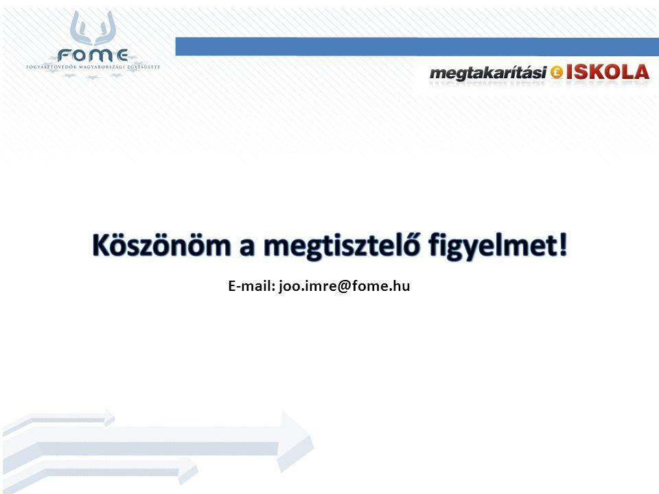 E-mail: joo.imre@fome.hu