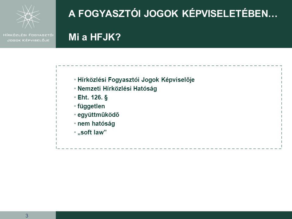 14 A FOGYASZTÓI JOGOK KÉPVISELETÉBEN… Fogyasztói Tudatosság Program 2008-2011 •Ötletek kollektív értékelése (workshop) •Ötletek priorizálása (fontosság, megvalósítható ság, egyetértés mértéke) •Ötletek logikai csoportokba való rendezése (NHH folyamat és piaci dimenziók alapján) 72 ötlet •Akciók felelőshöz rendelése •Akció dokumentáció s template kialakítása •Akciók kidolgozása a felelős szervezeti egység által 8 akció •Kidolgozott akciók egységes szerkezetbe rendezése •PIB és tanácsadók által történő véleményezés e •Fogyasztó célokhoz való hozzájárulás ellenőrzése •Egységes programterv elkészítése 1 FTP program terv