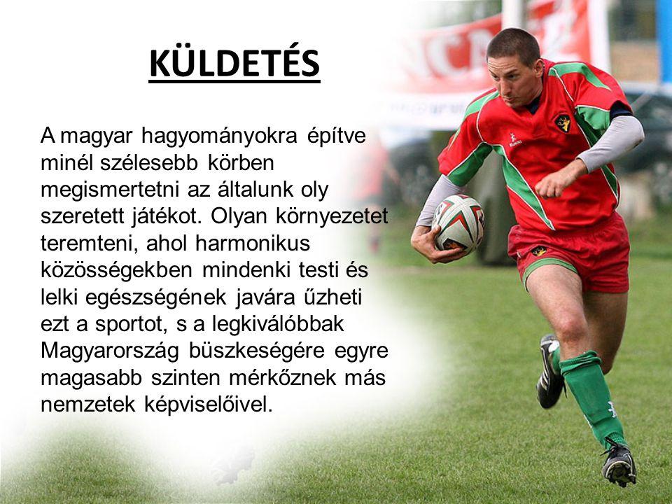 Technikai Igazgató •Jövőkép: A Magyar Rögbi Szövetség elnöksége által meghatározott elvek alapján, a kitűzött célok elérésének érdekében, a magyar kluboknak való segítségnyújtás.