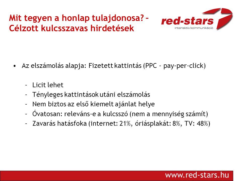 www.red-stars.hu Mit tegyen a honlap tulajdonosa.