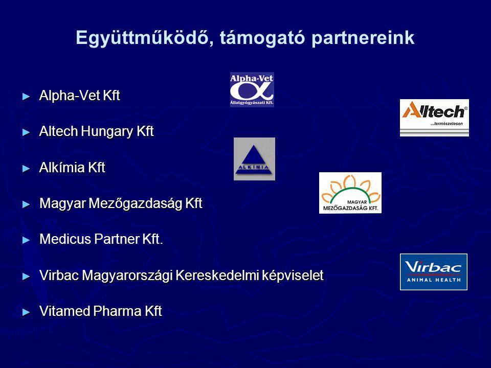 ► Alpha-Vet Kft ► Altech Hungary Kft ► Alkímia Kft ► Magyar Mezőgazdaság Kft ► ► Medicus Partner Kft.