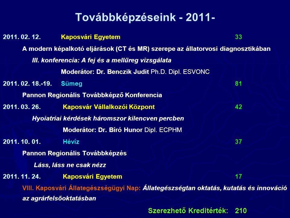Továbbképzéseink - 2011- 2011. 02.